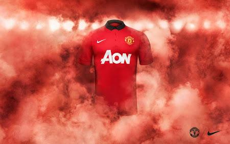Jersey Terbaru Manchester United Musim 2013/2014