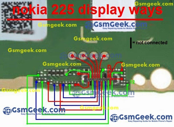 Nokia 225 Display ways Problem Repair Solution