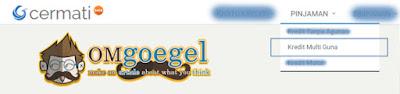 Cermati.com - Menu Pinjaman Kredit Multi Guna
