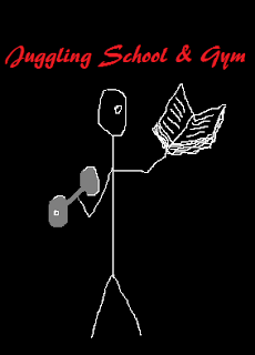 School and gym - dumbbell vs text book