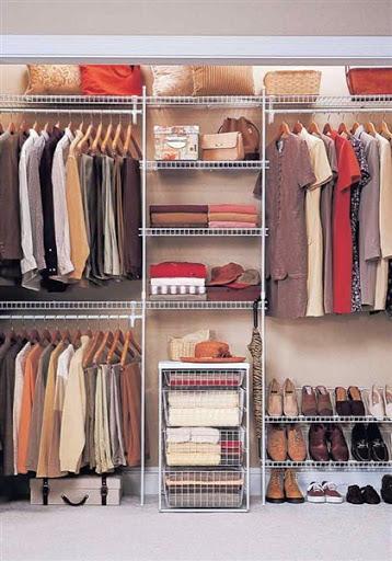 Model Desain Lemari Sepatu, Baju dan Tas