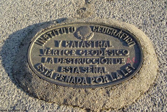 Centro geodésico de la Península Ibérica