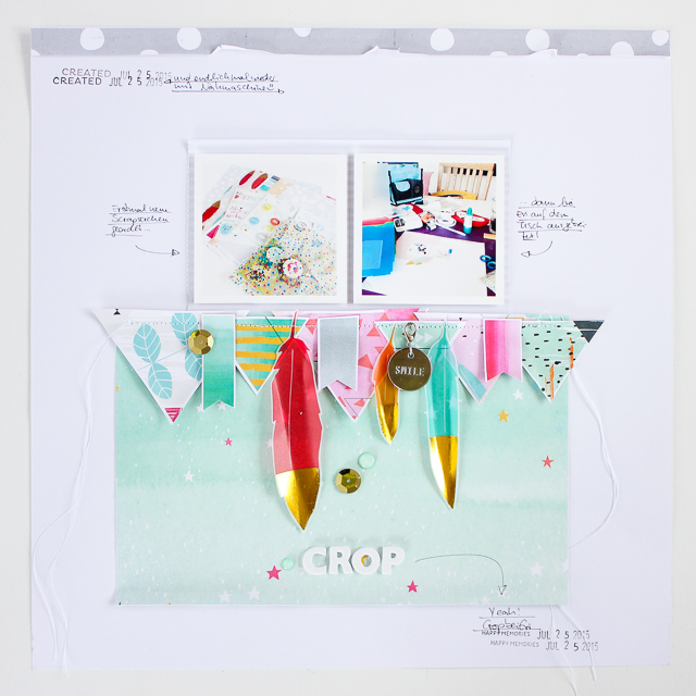 Scrapbooking Layout | Janna Werner | Pinkfresh Studio