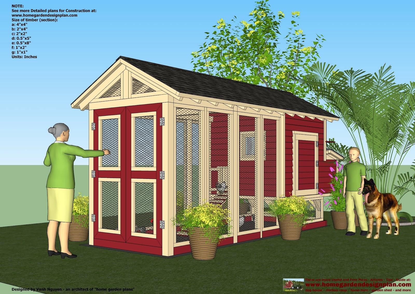 Chicken Coops Building Plans Free