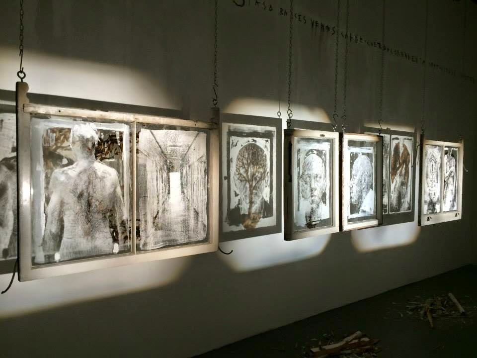 Gonzalo Borondo Exhibition Rexromae London 2015