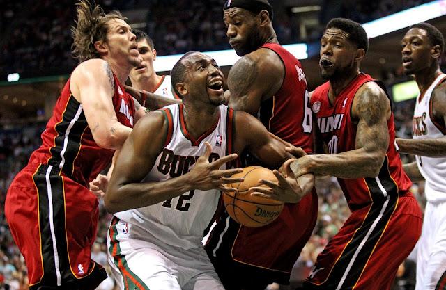 The Miami Heath, The Chicago Bulls,the heat