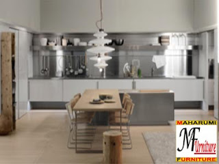 Setting Interior Kitchen Set