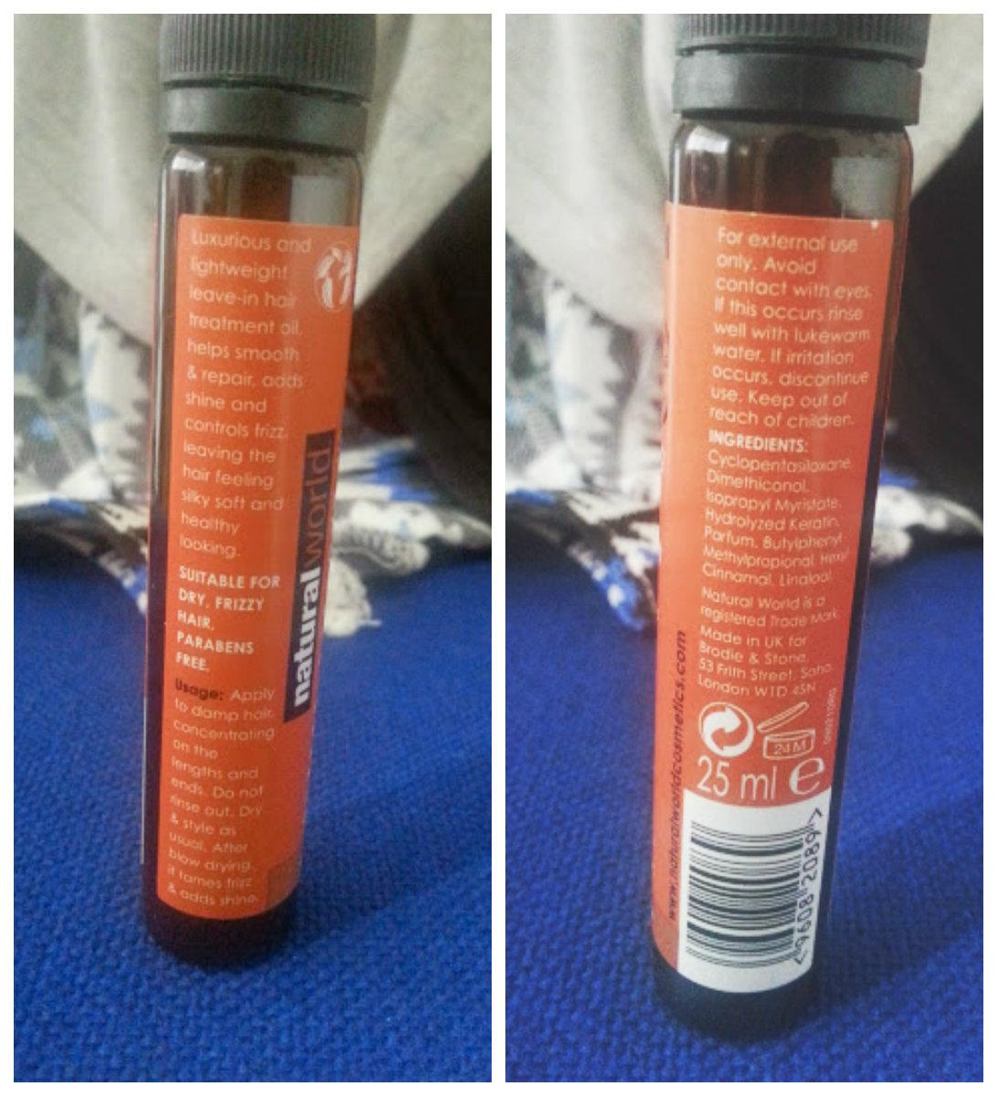 Snake Venom Eye Cream & Brazilian Keratin Hair Oil