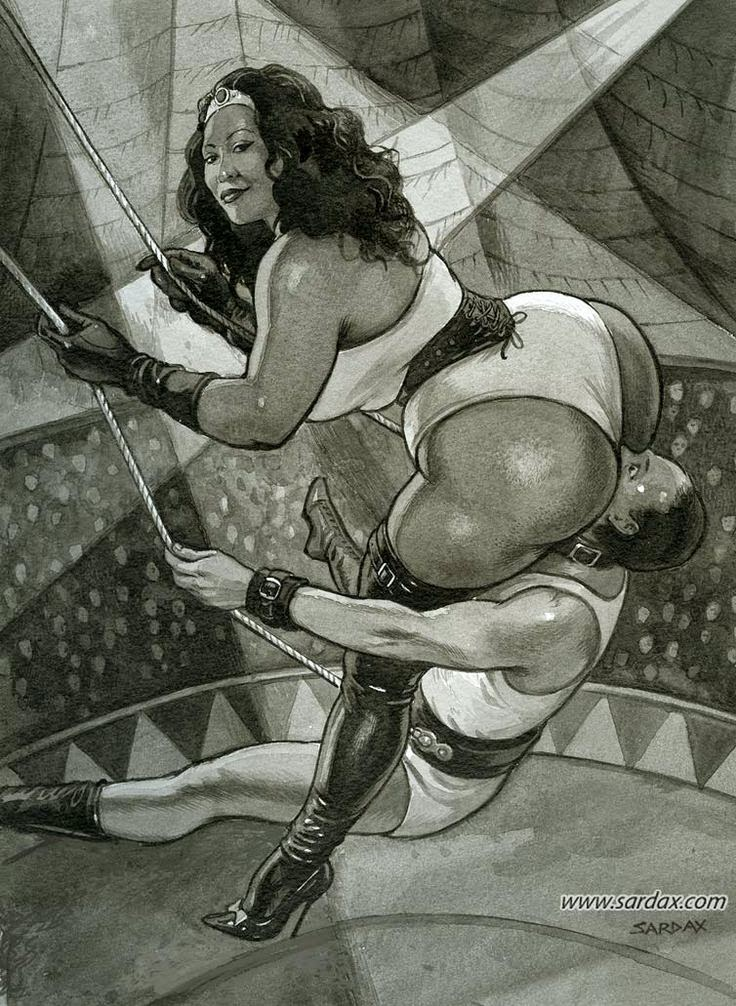 рисунки госпожа и раб