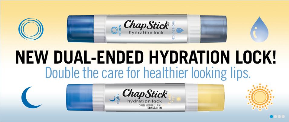 ChapStick Hydration Lock