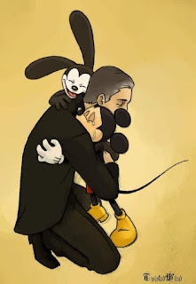 Walt Disney, Mickey Mouse e Oswald the Lucky Rabbit