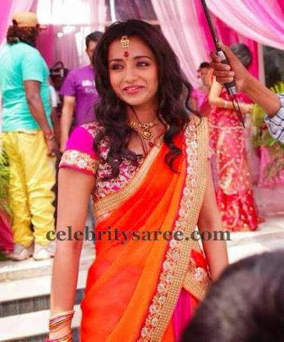 Trisha Rich Half Saree