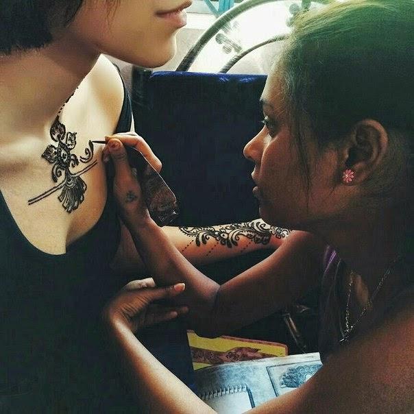 как делать татуировки хной - Как делать тату хной в домашних условиях Persian Shop