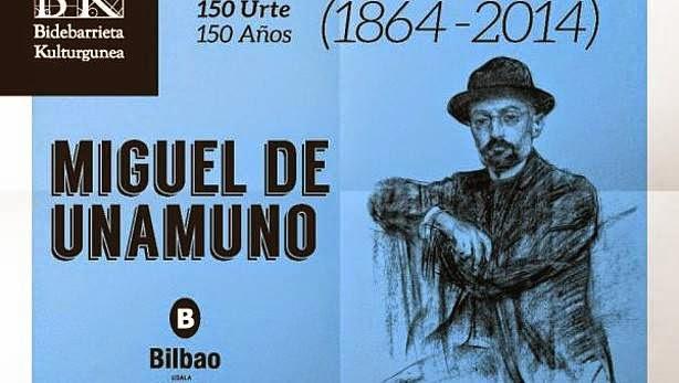 150 AÑOS DEL NACIMIENTO DE MIGUEL DE UNAMUNO