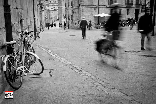 calle compañía bici salamanca