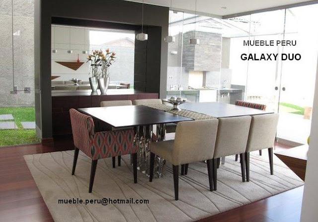 Comedores muebles per comedores elegantes for Comedores redondos elegantes