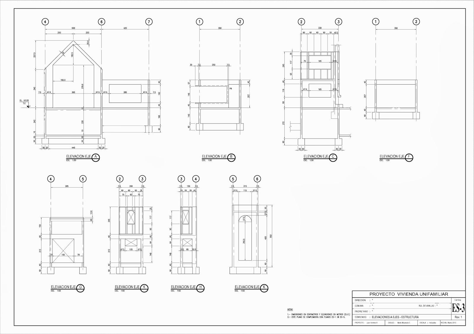 Madibujanteproyectista septiembre 2013 for Planos de estructuras
