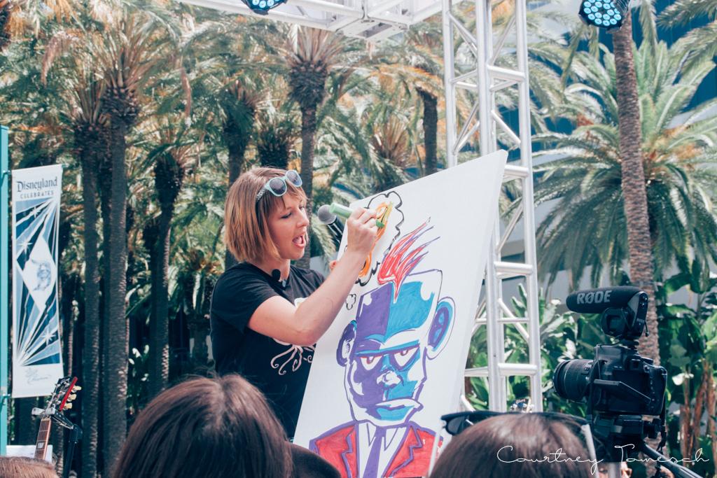 VidCon 2015 Mary Doodles
