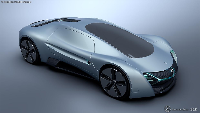 Mercedes benz elk fits the future ev supercar bill carscoops for Mercedes benz supercar