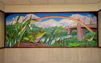 Frog Mural for Windham Hospital