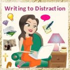 Writing to Distraction (By Carla Gade, the designer of our blog)