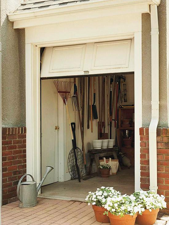 New home interior design quick easy exterior fixes for Golf cart garage door prices