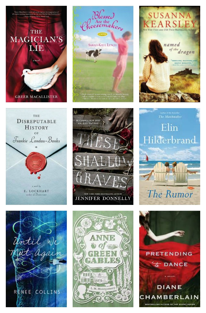 October 2015 short and sweet book reviews