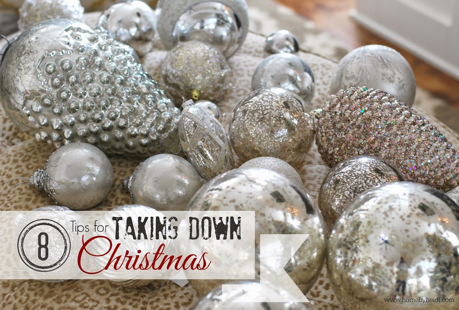 What day to take christmas decor down - 8 Tips For Taking Down Christmas Decor