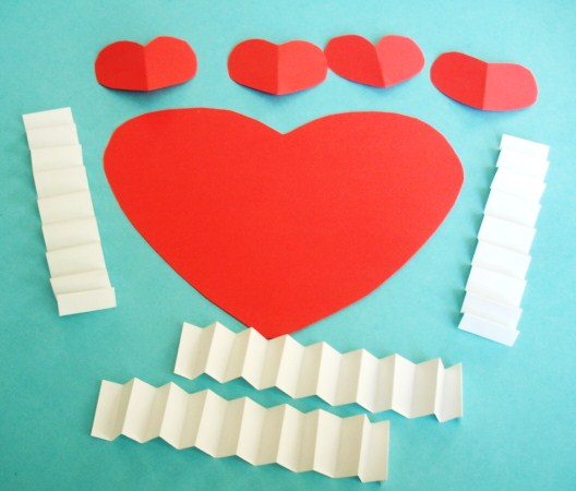 Valentine shapes