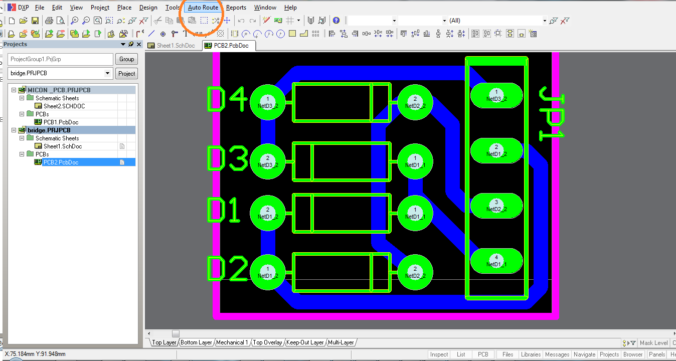 Rushi Gajjar April 2012 Use Nokia N900 And Arduino For Controlling Electronic Devices Build Now The Pcb Viewer Is Opened Arrange Components Route Whole Using Auto Routing