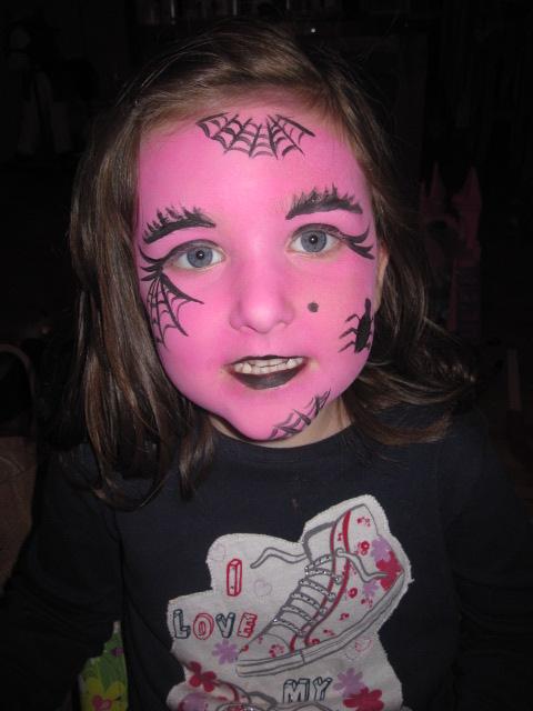 Marta Lapkowska Malowanie Twarzy Na Halloween Face