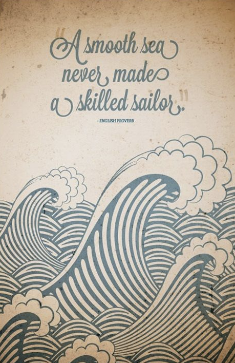 midweek motivation - smooth sea