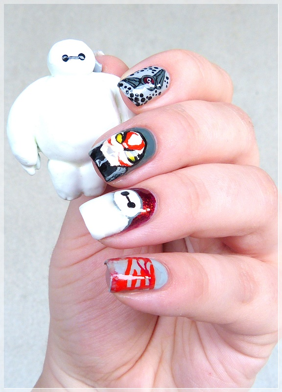 Baymax Nageldesign