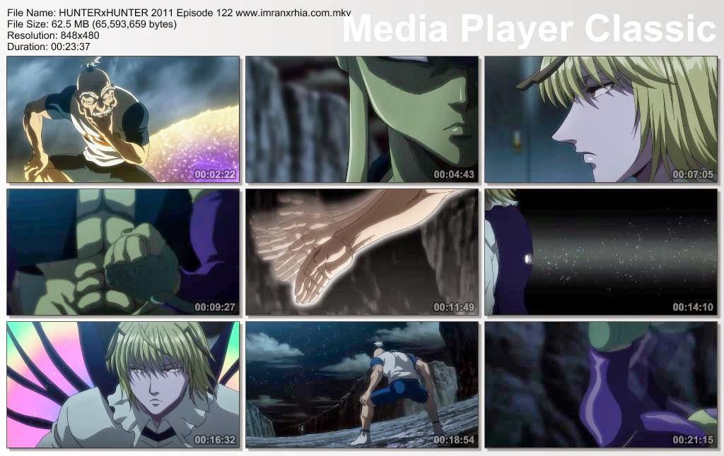 "Download Film / Anime Hunter x Hunter 2011 Episode 122 ""Sikap dan Nama"" Bahasa Indonesia"
