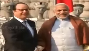 India and France vows to fight against terror together