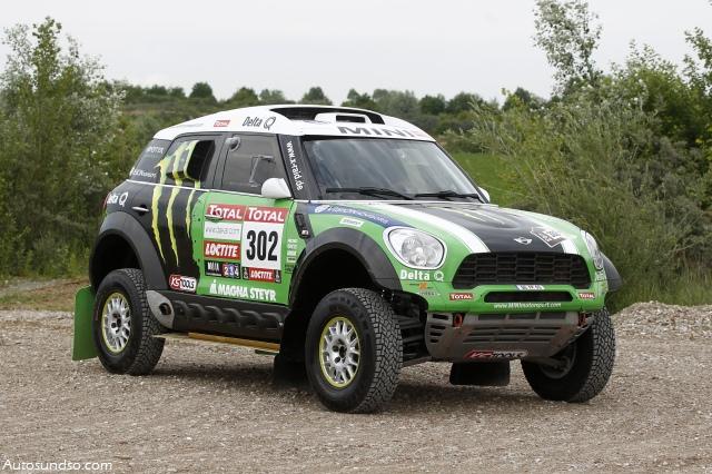 MINI Countryman startet heute bei Rallye DAKAR