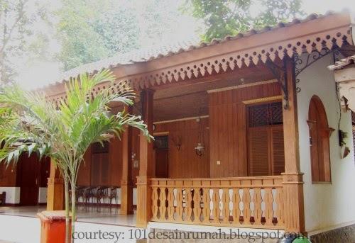 desain rumah ideal ide desain rumah adat betawi