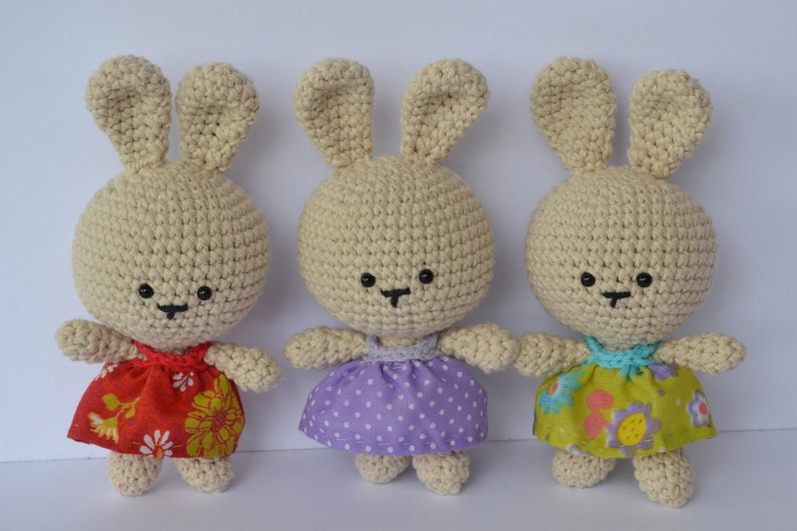 Amigurumi Kawaii Patrones : Es un Mundo Amigurumi: Patron Gratis Coneja de Pascua!!!!