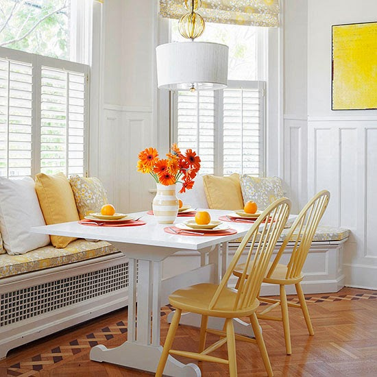 2014 Comfort Breakfast Nook Decorating Ideas Furniture