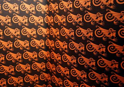 Vorsatz, Vorsatzpapier, Carlos Ruiz Zafón, Mitternachtspalast, Drachen