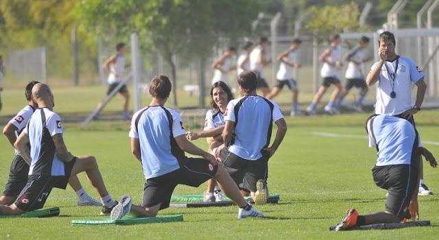 entrenamiento de Belgrano de Cordoba