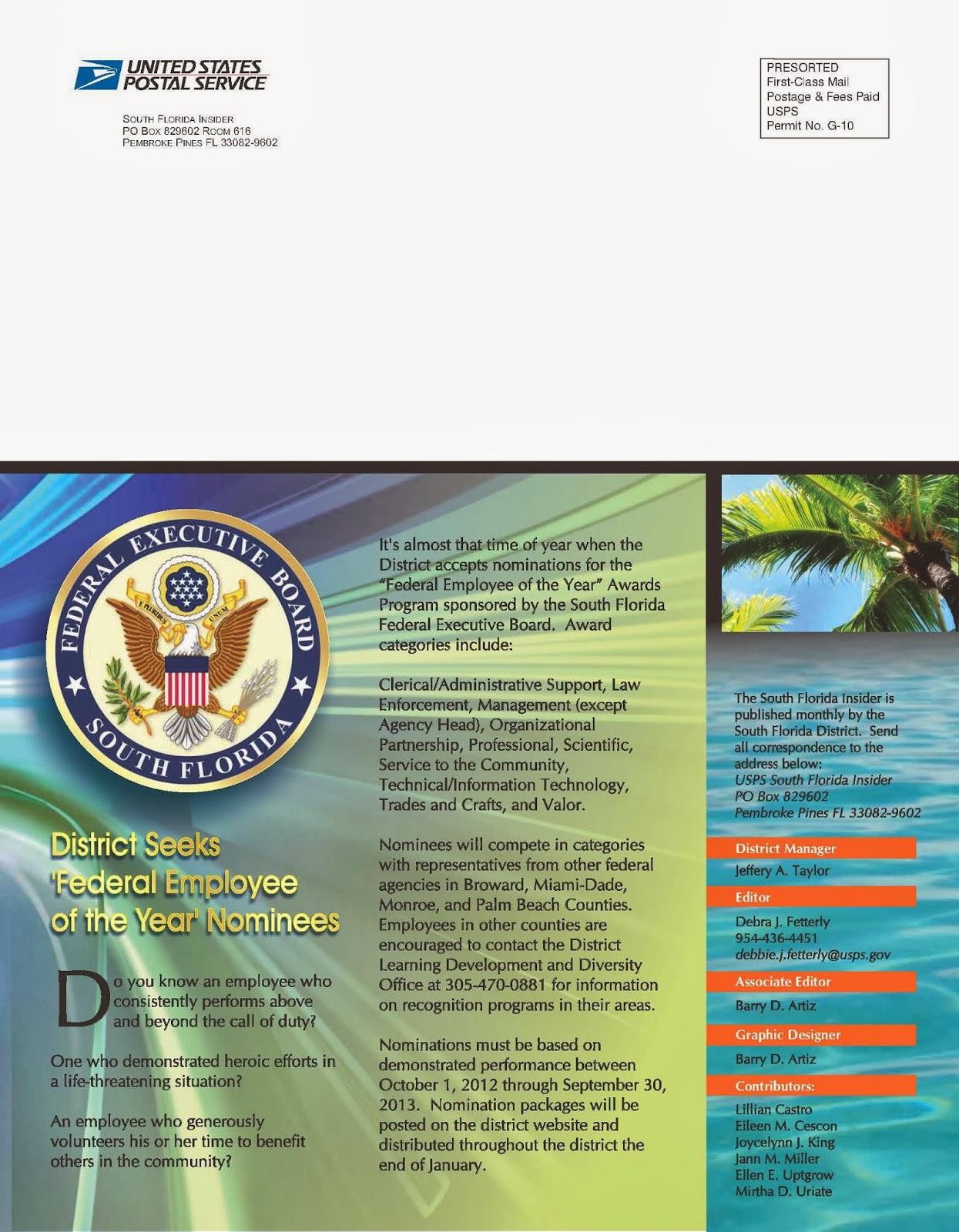 South Florida Postal Blog: January 2014