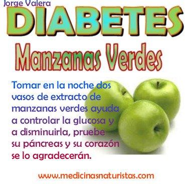 MEDICINA NATURAL: DIABETES: MANZANA VERDE