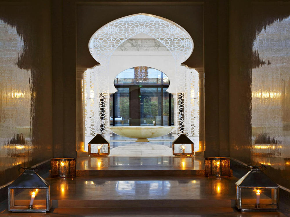The royal mansour marrakech glamorous luxury passion for Decoration porte patio