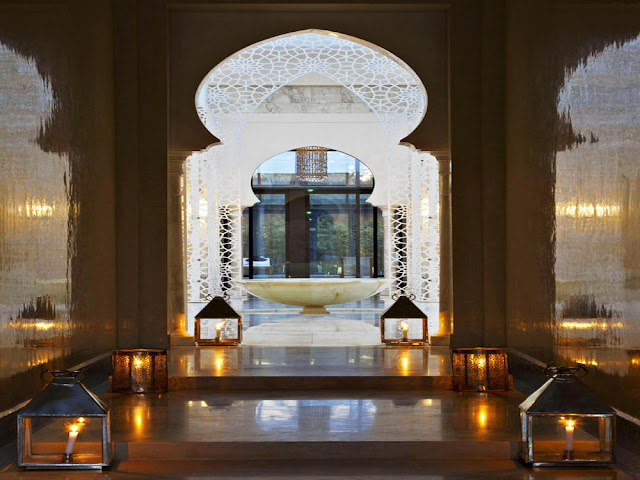 Passion for luxury the royal mansour marrakech for Decoration porte patio