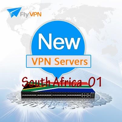 South Africa 01 VPN Server Online