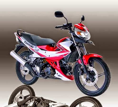 Kawasaki Athlete 125 Red