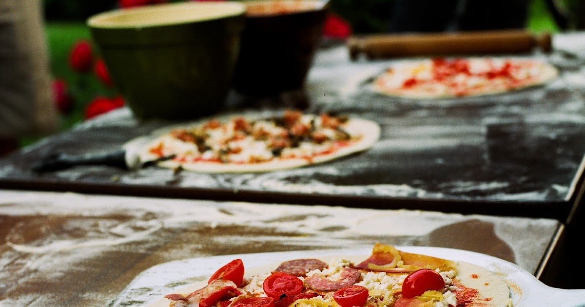 Pizza 101: Pizza Dough Recipe & Podcast on Making Pizza in a Wood Burning Oven