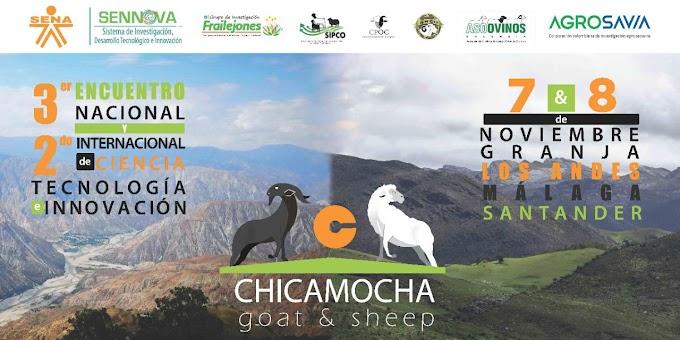 Esta semana la tecnológica se toma el SENA CATA en Málaga: Tercer Encuentro Nacional y Segundo Internacional Chicamocha goat & sheep