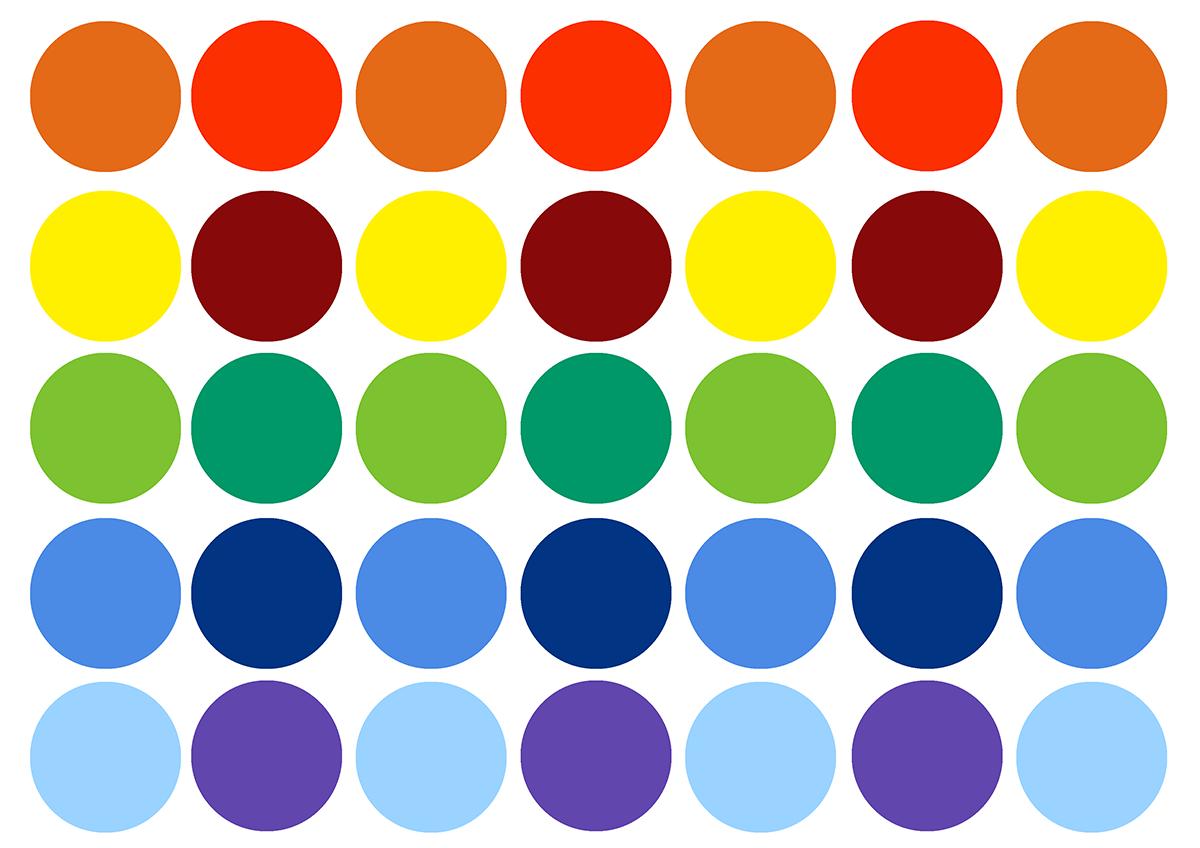 цветов помощью знакомство с